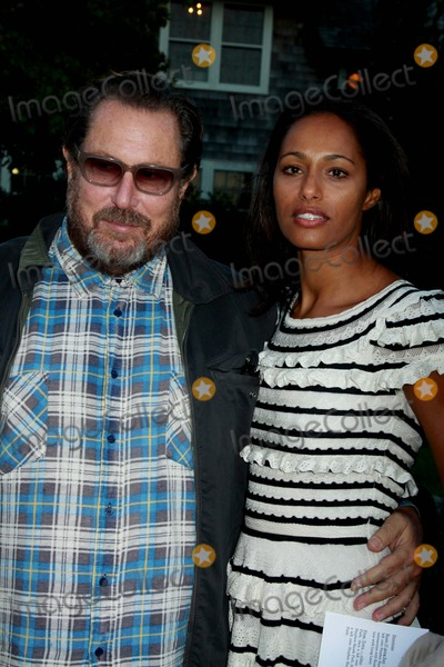 Rula Jebreal Photo - The Hamptons International Film Festival Chairmans Reception Stuart Match Suna Residence East Hampton NY 10-09-2010 Photos by Sonia Moskowitz Globe Photos Inc 2010 Julian Schnabel and Rula Jebreal