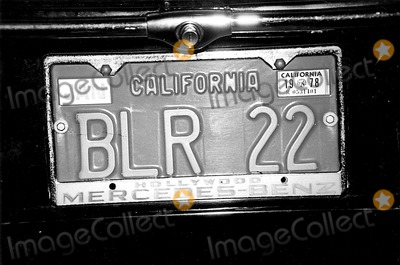 Burt Reynolds Photo - Burt Reynolds License Plate Globe Photos Inc