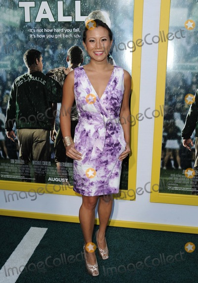 Angela Sun Photo - Angela Sun attending the Los Angeles Premiere of When the Game Stands Tall Held at the Arclight Theater in Hollywood California on August 4 2014 Photo by D Long- Globe Photos Inc