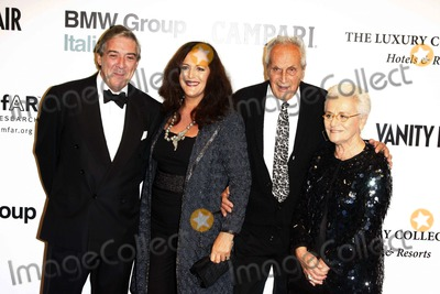 Angela Missoni Photo - (r-l) Rosita Ottavio Angela Missoni and Husband Arriving at the Amfar Gala and Auction at Villa Borghese in Rome Italy on October 24th 2008 Photo by Alec Michael-Globe Photos Inc 2008