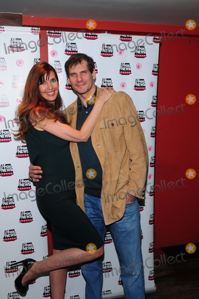 Alexei Yashin Photo - Carol Alt Pure Food and Wine Restaurant NY 4-7-2014 Photo by - Ken Babolcsay IpolGlobe Photo Carol Alt Alexei Yashin