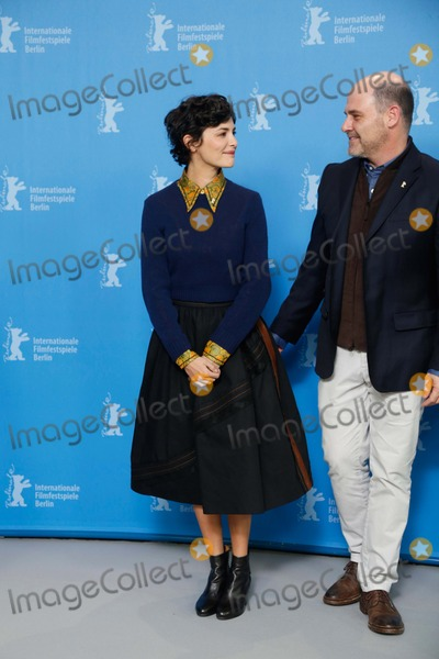 Audrey Tautou Photo - Actress Audrey Tautou and Director Matthew Weiner Attend the Jury Photocall During the 65th International Berlin Film Festival Berlinale at Hotel Hyatt in Berlin Germany on 05 February 2015 Photo Alec Michael