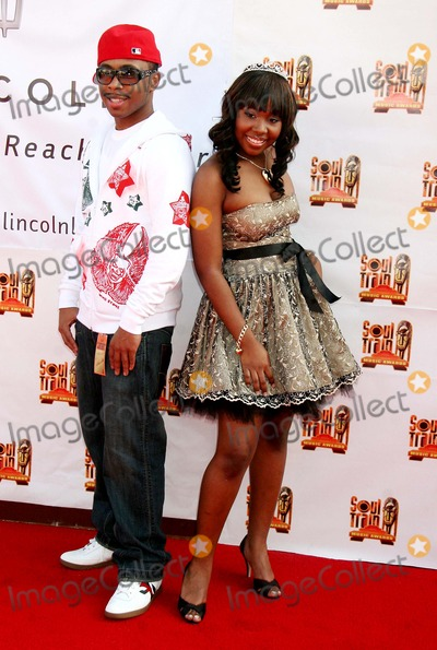 Webstar Photo - 21st Annual Soul Train Music Awards - Red Carpet Pasadena Civic Auditorium Pasadena CA 03-10-2007 Dj Webstar and Young B Photo Clinton H Wallace-photomundo-Globe Photos Inc