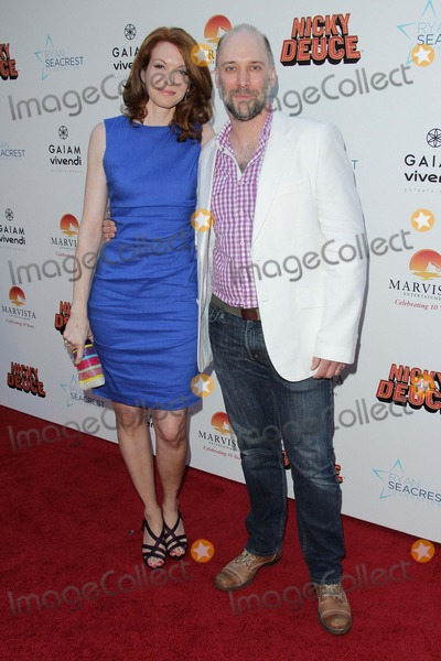 Andrea Frankle Photo - Andrea Frankle and Carlo Mestron Attend Nickelodeons Nicky Deuce Los Angeles Premiere 20th May 2013 at the Arclight Hollywoodcausa Photo TleopoldGlobephotos