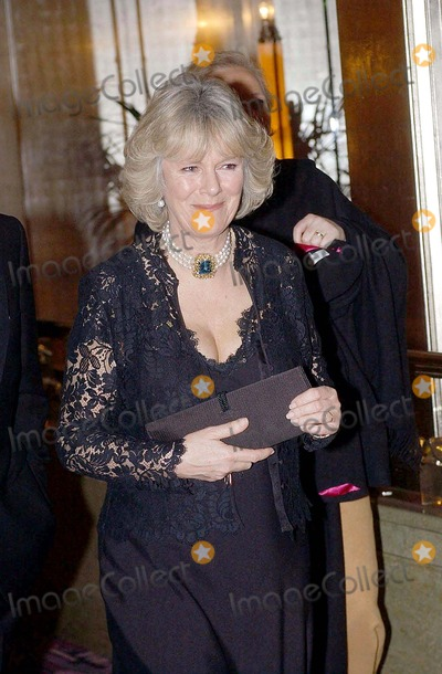 Camilla Parker Bowles Photo - No Uk Rights Until 04032004 054269 03032004 Camilla Parker Bowles Accompanied Prince Charles the Prince of Wales to the Opening of an Art Exhibition at the Park Lane Hotel in London