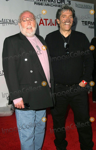 Andy Vajna Photo - Andy Vajna and Mario Kassar - Terminator 3 Rise of the Machines Game Launch Party - Raleigh Studios Hollywood CA - 05122003 - Photo by Nina PrommerGlobe Photos Inc2003