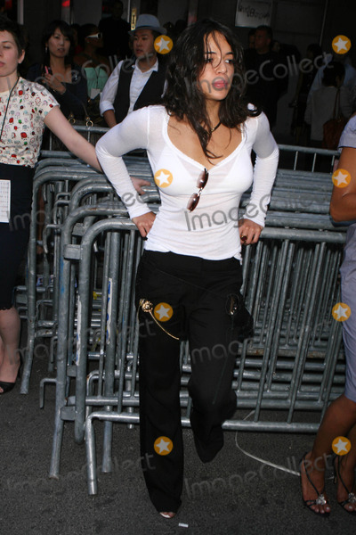 Michelle Rodriguez Photo - Mercedes-benz Fashion Week Tommy Hilfiger Fashion Show - Celebs at Hammerstein Ballroom New York City 09-12-2007 Photo by John Barrett-Globe Photosinc 2007 Michelle Rodriguez