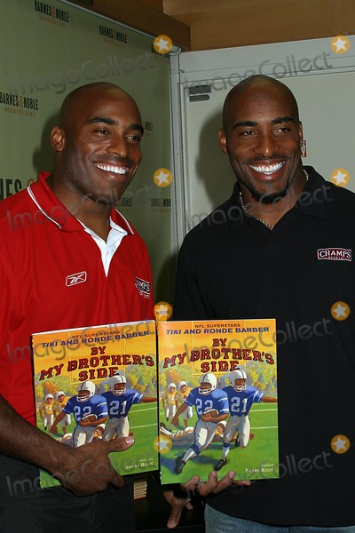 Barber Picture - the My Brothers Side Book Signing with Tiki Barber ...
