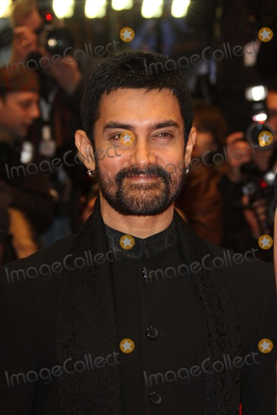 Aamir Khan Photo - Actor Director Aamir Khan Arrives at the Premiere of True Grit at the 61st Berlin International Film Festival Berlinale at Berlinale Palast in Berlin Germany on 10 February 2011 photo by Alec Michael-globe Photos Inc 2011