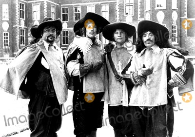 Richard Chamberlain Photo - Oliver Reed Richard Chamberlain Michael York and Frank Finlay in the Four Musketeers 1974 Supplied by Globe Photos Inc Richardchamberlainretro Tv Movie Still