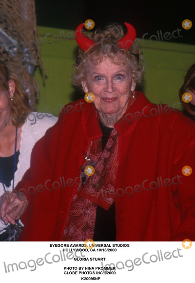 Gloria Stuart Photo - Eyegore Awards Universal Studios Hollywood CA 10132000 Gloria Stuart Photo by Nina Prommer Globe Photos Inc2000