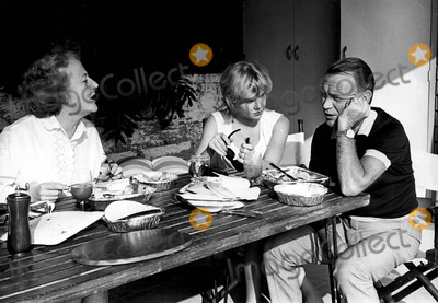 Hayley Mills Photo - John Mills with Hayley Mills and Mary Haley Bell Photo by Orlando-Globe Photos Inc