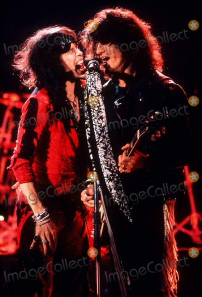 Aerosmith Photo - Aerosmith Photodickson  Globe Photos Inc
