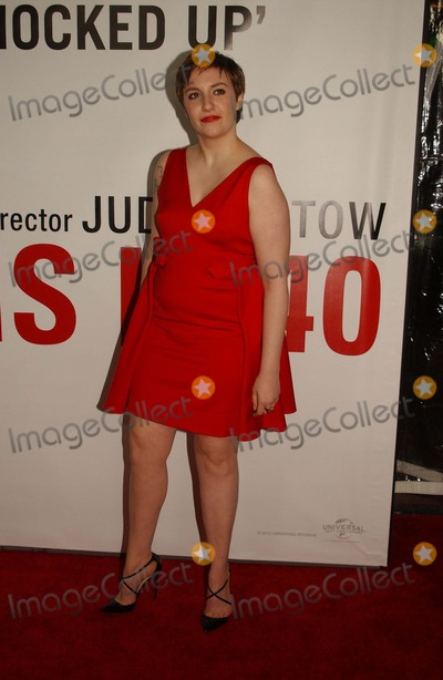 Lena Dunham Photo - Lena Dunham attends the Premiere of This Is 40 at the Chinese Theater in hollywoodca on December 12 2012 Photo by Phil Roach-ipol-Globe Photos