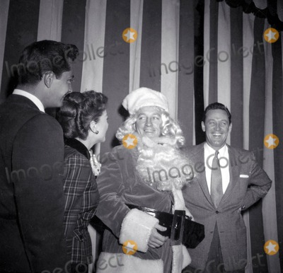 John Derek Photo - John Derek Anne Baxter Bing Crosby William Holden at Hollywood Womens Press Club Xmas Party Photo Nate CutlerGlobe Photos Inc