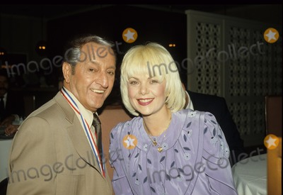 Ann Jillian Photo - Danny Thomas with Ann Jillian Photo by Michelson-Globe Photos Inc