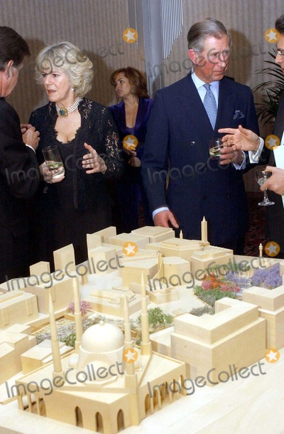 Camilla Parker-Bowles Photo - No Uk Rights Until 04032004 054269 03032004 Prince Charles the Prince of Wales Accompanied by Camilla Parker Bowles to the Opening of an Art Exhibition at the Park Lane Hotel in London