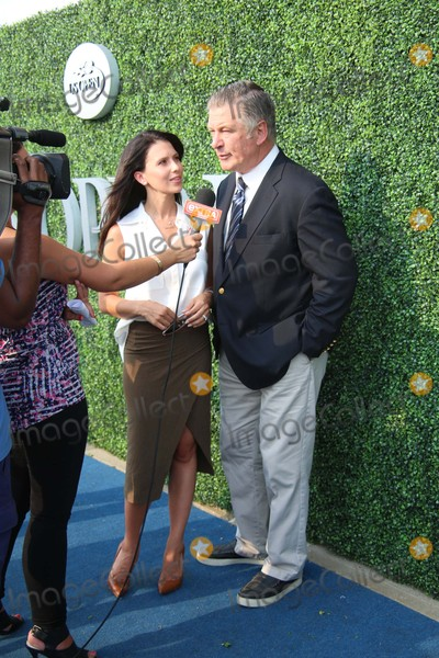 Billy Jean King Photo - Hilaria Baldwin and Alec Baldwin Attend the Usta Foundation Opening Night Gala Blue Carpet at the 2015 Us Open Usta Billie Jean King National Tennis Center Flushing NY August 31 2015 Photos by Sonia Moskowitz Globe Photos Inc