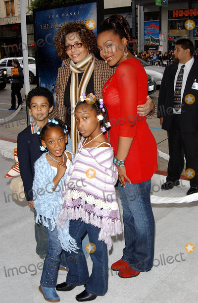 Family photo of the actress musician  famous for The Gospel & The Polar Express.