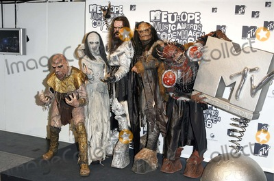 Lordi Photo - Mtv European Music Awards 2006-press Room-bella Centre Copenhagen Denmark 11-02-2006 Photo by Mark Chilton-richfoto-Globe Photosinc Lordi