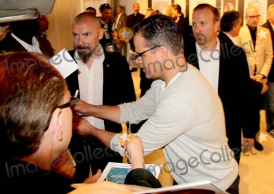 Matt Damon Photo - the 66th Annual Cannes International Film Festival - Mat Damon and Michael Douglas Sign Autographs at Behind the Candelabra Press Conference Palais Des Festivals  Cannes France 05212013 Matt Damon Photo Clinton H Wallace-Globe Photos Inc
