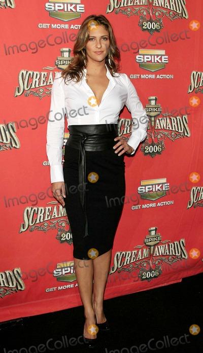 Jill Wagner Photo - Jill Wagner - Spike Tvs Scream Awards 2006 - Pantages Theater Hollywood California - 10-07-2006 - Photo by Nina PrommerGlobe Photos Inc 2006