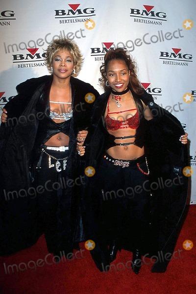 T-Boz Photo - 45th Bmg Post Grammy Awards Party at Gotham Hall New York City 02232003 Photo John Zissel Ipol Globe Photos Inc 2003 T-boz and Chili of Tlc