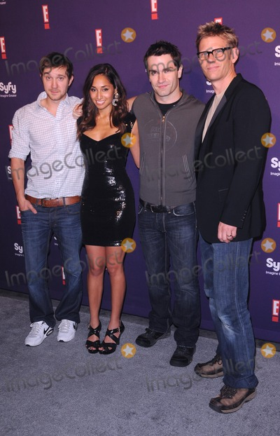 Meaghan Rath Photo - Syfy  E Comic-con 2011 Party at Hotel Solamar in San Diego CA 72311 Photo by Scott Kirkland-Globe Photos  2011 Sam Huntington Meaghan Rath Sam Witwer Mark Pellegrino