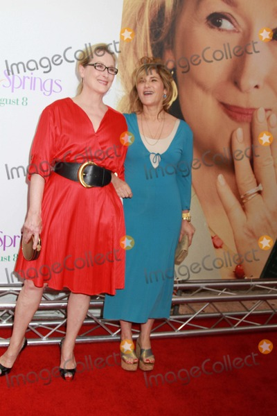 Amy Pascal Photo - Columbia Pictures Presents the World Premiere of Hope Springs Sva Theater NYC August 6 2012 Photos by Sonia Moskowitz Globe Photos Inc 2012 Meryl Streep Amy Pascal