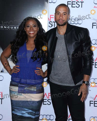 Aaron Hines Photo - Nichelle Hines Aaron Hines attending the Afi Fest 2015 World Premiere of Concussion Held at the Tcl Chinese Theatre in Hollywood California on November 10 2015 Photo by David Longendyke-Globe Photos Inc