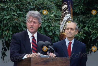 Stephen Breyer Photo - Stephen G Breyer Nomin of Judge Stephen Breyer to Supreme CT 1994 L8334jkel Photo by James M Kelly-Globe Photos Inc