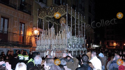 Antonio Maria Rouco Varela Photo - 04-06-2007_Madrid Spain_Cardinal Antonio Maria Rouco Varela of Madrid is the lead celebrant during the Easter processionsof Jesus de Pobre and Maria Santisima De La Esperanza Macarena two holy icons held on the shoulders of worshippers and moved through the narrow streets of the old city in MadridPHOTO BY NEIL SCHNEIDER-GLOBE PHOTOSK52469NS