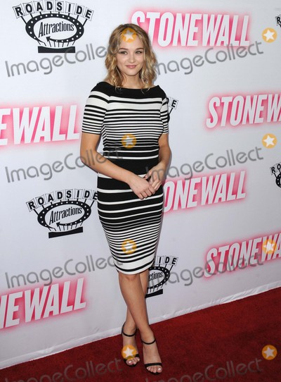 Hunter King Photo - Hunter King attending the Los Angeles Premiere of Stonewall Held at the Pacific Design Center in West Hollywood California on September 23 2015 Photo by David Longendyke-Globe Photos Inc