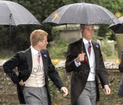 William Prince Photo - Tom Parker Bowles  Sarah Buys Wedding-stnicholas Church Rotherfield Greys Nrhenley-on-thames Oxfordshire England Uk Mark Chilton-globelinkukcom-Globe Photos Inc 001586 09-10-2005 Prince William  Prince Harry