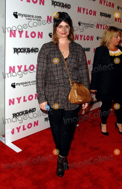 Aimee Osbourne Photo - Nylon Magazine  Myspace Celebrate Their Third Annual Collaborative Music Issue in Hollywood CA 06-03-2008 Image Aimee Osbourne Photo James Diddick  Globe Photos
