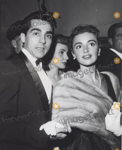 Anna Maria Alberghetti Photo - Perry Lopez Wtih Anna Maria Alberghetti at the Giant Premiere 1959 Supplied by Globe Photos Inc