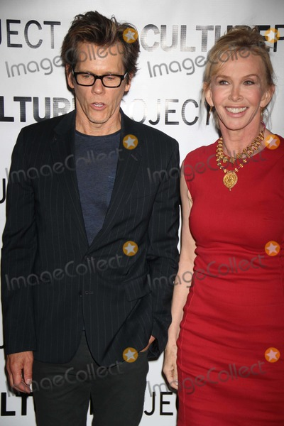 Trudy Styler Photo - Kevin Bacontrudie Styler at Culture Project Gala For Opening of Newly Named Lynn Redgrave Theatre at Stage 48 W48st 6-3-2013 Photo by John BarrettGlobe Photos