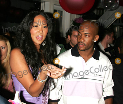 Stephen Marbury Photo - the Summer Kick Off Party For Baby Phat Star Room the Hamptons 05-29-2005 Photo by Rick Mackler-rangefinders-Globe Photos 2005 Kimora Lee Simmons Stephen Marbury