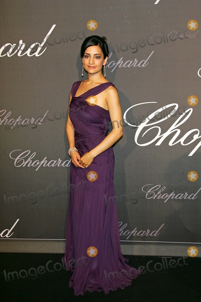 Archie Punjabi Photo - Chopard Trophy Winner Archie Panjabi Arriving at the Trophe Chopard Ceremony at La Roseraie La Croisette During the 60th Cannes Filmfest France May 25th 2007photo by Alec Michael-Globe Photos 2007