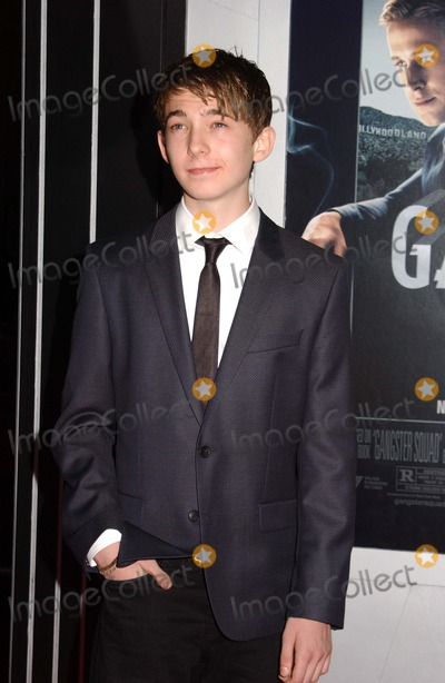 Austin Abrams Photo - Austin Abrams attends the Premiere of Gangster Squad at the Chinese Theater in Hollywoodca on January 72013 Photo by Phil Roach-ipol-Globe Photos