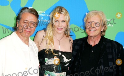 Rutger Hauer Photo - (l-r) Edward James Olmos Daryl Hannah and Rutger Hauer posing after the press conference of the film Blade Runner The Final Cut at the 64th Film Fest in Venice Italy at Palazzo del Casino on september 1st 2007 PHOTO BY ALEC MICHAEL-GLOBE PHOTOSINCK54369AM
