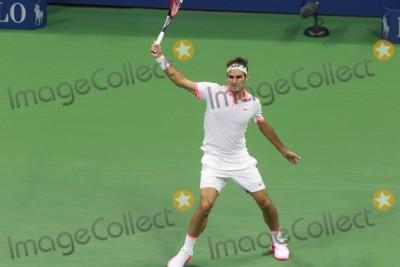 Novak Djokovic Photo - Roger Federer Novak Djokovic Vs Roger Federer Open Tennis Mens Finals at Arthur Ashe Stadium 9-14-2015 John BarrettGlobe Photos