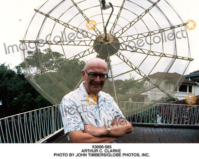 Arthur C Clarke Photo - -565 Arthur C Clarke Photo by John TimbersGlobe Photos Inc