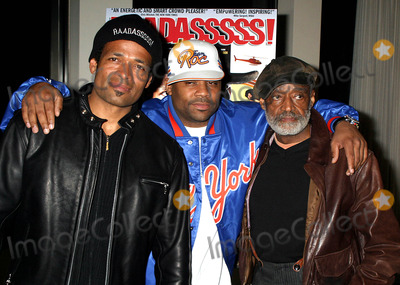 Damon Dash Photo - Special Screening of Baadasssss at the Sony Screening Room  New York City 4122004 Photo by Rick MacklerrangefinderGlobe Photos Inc 2004 Mario Van Peebles_damon Dash_melvin Van Peebles
