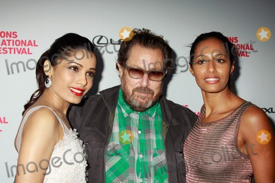 Rula Jebreal Photo - The Hamptons International Film Festival 2010 Screening of Miral Directed by Julian Schnabel Ua Theater East Hampton NY 10-08-2010 Photos by Sonia Moskowitz Globe Photos Inc 2010 Frieda Pinto Julian Schnabel Rula Jebreal Rula Jebreal