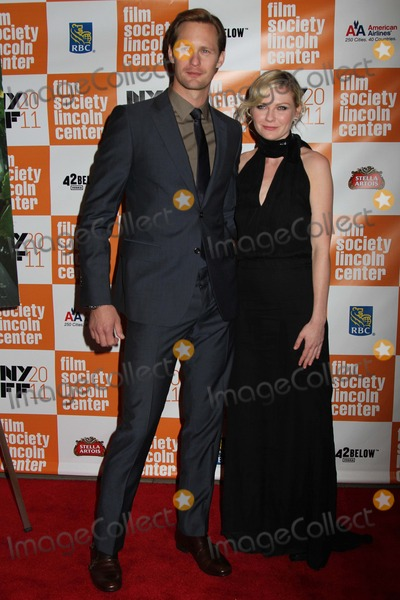 Alexander Skarsgaard Photo - The 49th Annual New York Film Festival Presents the Nyff Presentation of Melancholia Alice Tully Hall NYC October 3 2011 Photos by Sonia Moskowitz Globe Photos Inc 2011 Alexander Skarsgaard Kirsten Dunst