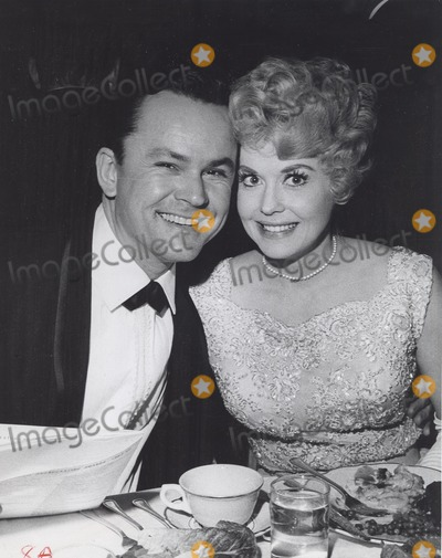 Bob Crane Photo - Donna Douglas with Bob Crane at the 4th International Broadcasting Awards Banquet  Hollywood Palladium Supplied by Globe Photos Inc