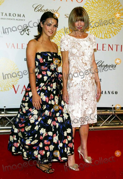Anna Schaffer Photo - K53740PATARRIVALS for the after party and dinner for the Valentino haute couture fall 2007 collection during the Valentino 45th Anniversary Celebrations held at the Borghese Galleria in Rome Italy on 07-08-2007PHOTO BY PATRICK-GLOBE PHOTOSINCANNA WINTOUR_BEE SCHAFFER