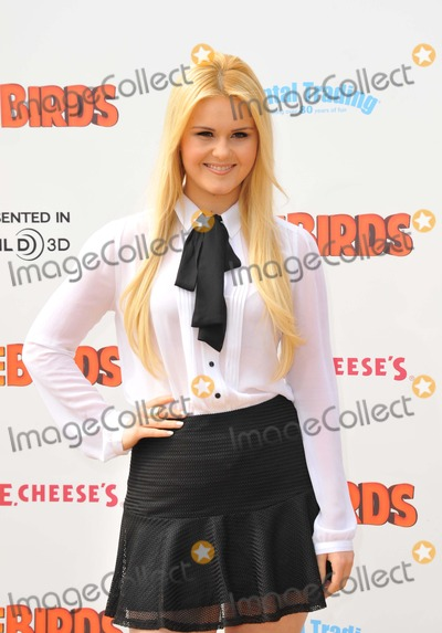Ashley Keating Photo - Ashley Keating attending the Los Angeles Premiere of Free Birds Held at the Westwood Village Theatre in Westwood California on October 13 2013 Photo by D Long- Globe Photos Inc