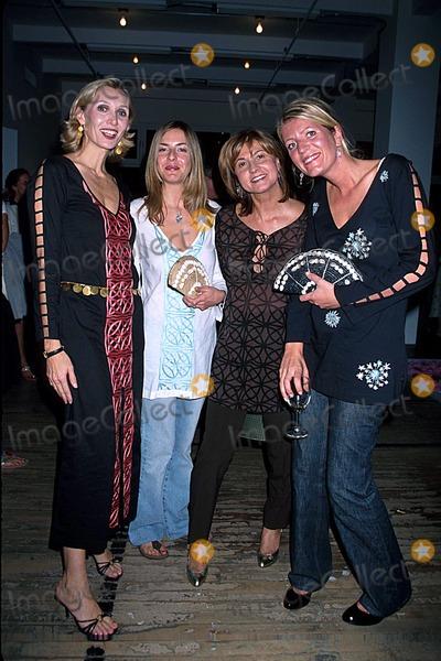 Allegra Hicks Photo - Allegra Hicks Springsummer 2003 Fashion Show NYC 092002 Photo by Rose HartmanGlobe Photos Inc 2002 Allegra Hicks Milly DE Cabrol Alice Sykes